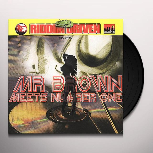 RIDDIM DRIVEN: MR BROWN MEETS NUMBER ONE / VARIOUS Vinyl Record