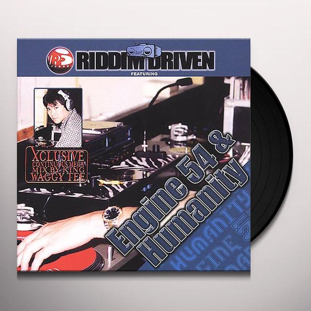 RIDDIM DRIVEN: ENGINE 54 & HUMANITY / VARIOUS Vinyl Record