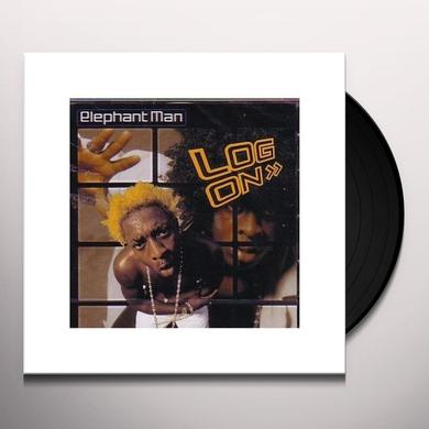 Elephant Man LOG ON Vinyl Record