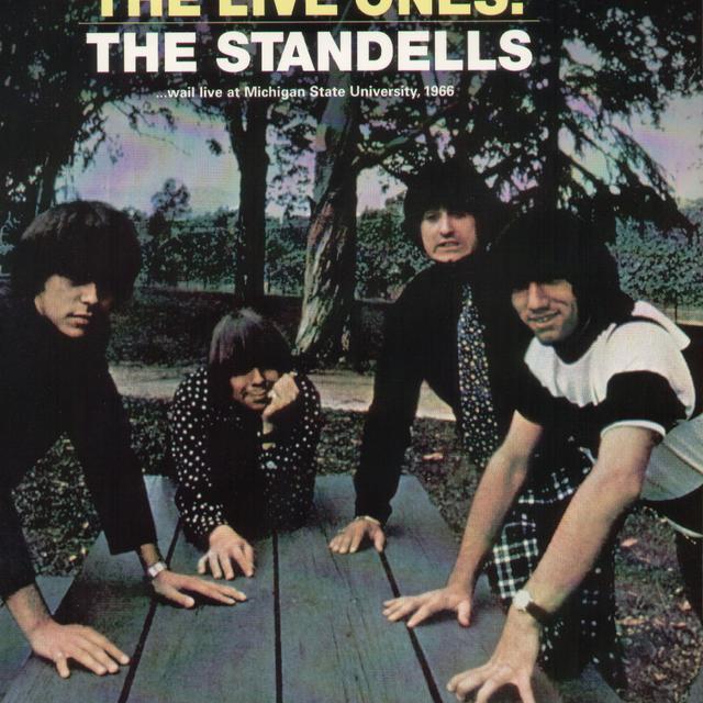 The Standells LIVE ONES Vinyl Record