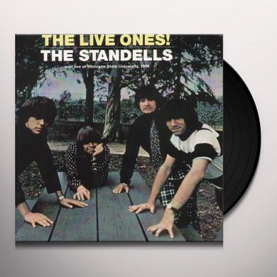 The Standells LIVE ONES  (EP) Vinyl Record - 10 Inch Single