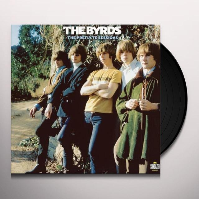 The Byrds PREFLYTE SESSIONS Vinyl Record