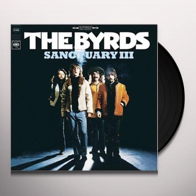 The Byrds SANCTUARY 3 Vinyl Record