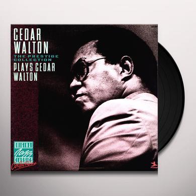 Cedar Walton CEDAR PLAYS WALTON Vinyl Record