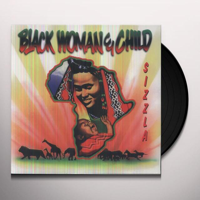 Sizzla BLACK WOMAN & CHILD Vinyl Record
