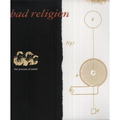Bad Religion PROCESS OF BELIEF Vinyl Record