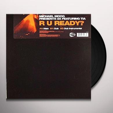 Michael Moog R U READY Vinyl Record