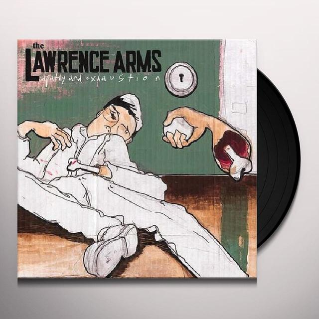 The Lawrence Arms APATHY & EXHAUSTION Vinyl Record