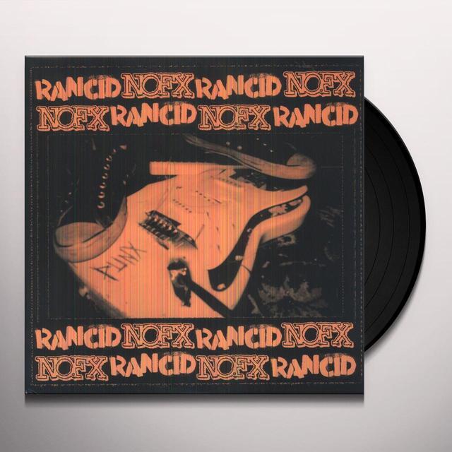 Nofx & Rancid SPLIT SERIES 3 Vinyl Record