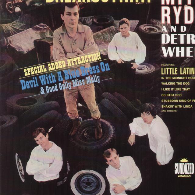Mitch / Detroit Wheels Ryder BREAKOUT Vinyl Record