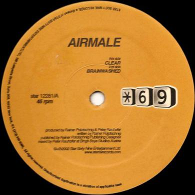 Airmale CLEAR Vinyl Record