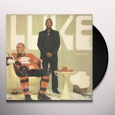 Luke Slater ALRIGHT ON TOP Vinyl Record - Limited Edition
