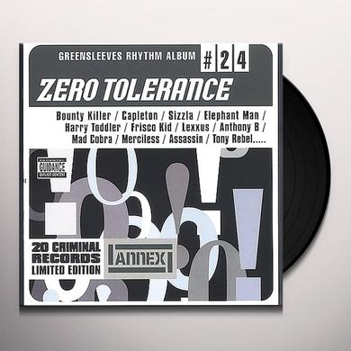 ZERO TOLERANCE / VARIOUS Vinyl Record