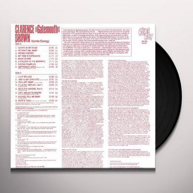Clarence Gatemouth Brown ATOMIC ENERGY Vinyl Record