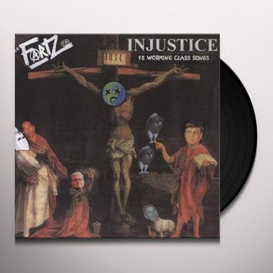 The Fartz INJUSTICE Vinyl Record