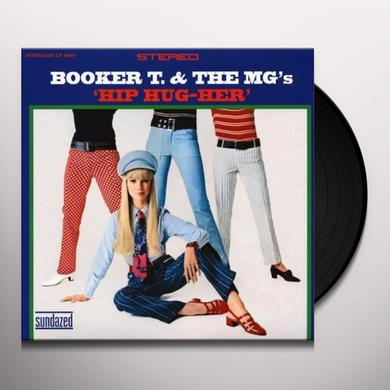 Booker T. & the M.G.'s HIP HUG-HER Vinyl Record