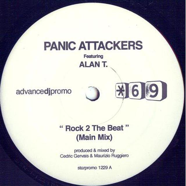 Panic Attackers / Alan T ROCK TO THE BEAT Vinyl Record