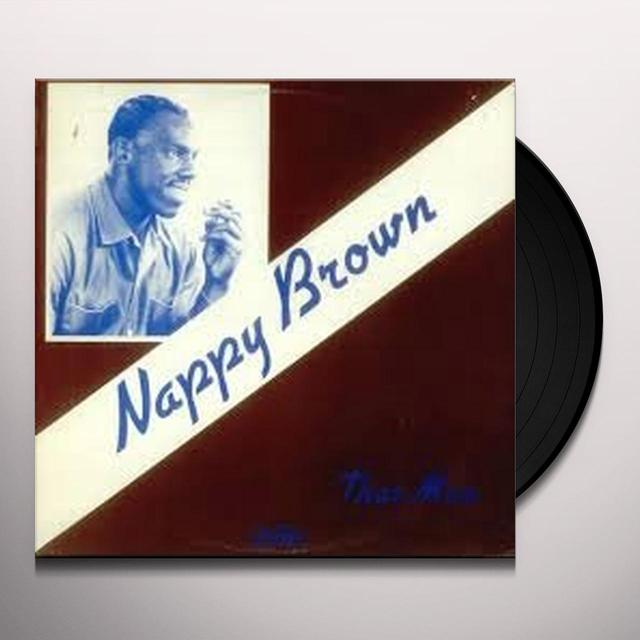 Nappy Brown THAT MAN Vinyl Record