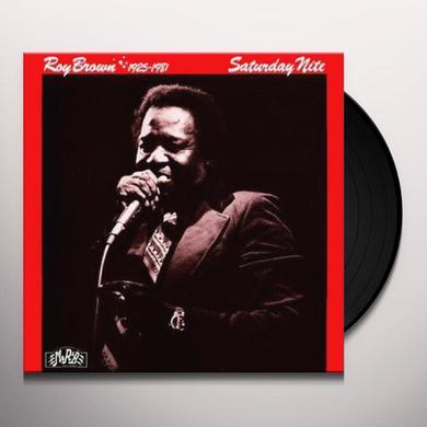 Roy Brown SATURDAY NITE Vinyl Record