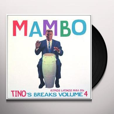 TINO'S BREAKS 4 Vinyl Record