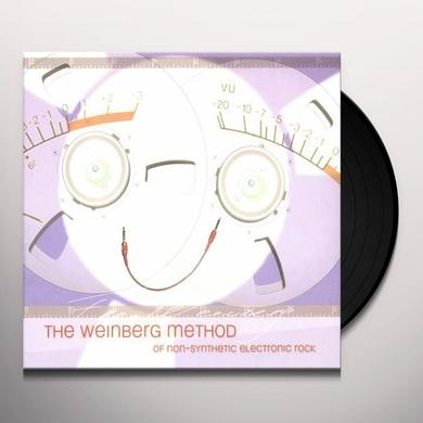 Fred Weinberg WEINBERG METHOD OF NON-SYNTHETIC ELECTRONIC ROCK Vinyl Record