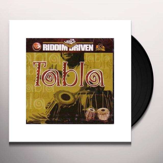 RIDDIM DRIVEN: TABLA / VARIOUS Vinyl Record