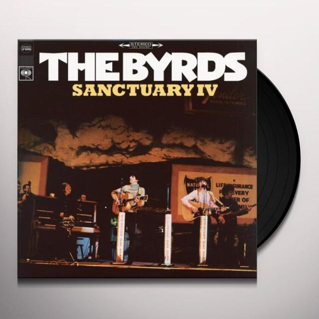 The Byrds SANCTUARY 4 Vinyl Record