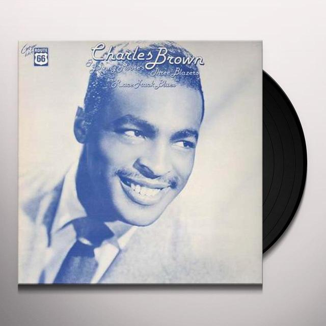Charles Brown RACE TRACK BLUES Vinyl Record
