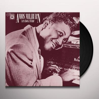 Amos Milburn LETS ROCK AWHILE 1946-54 Vinyl Record