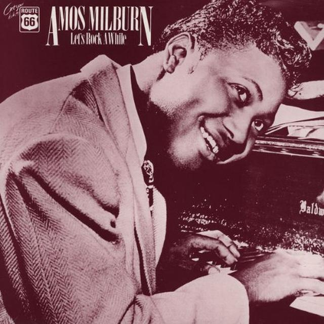 Amos Milburn LETS ROCK AWHILE 1946-54 Vinyl Record