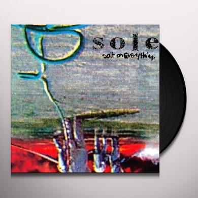 Sole SALT ON EVERYTHING Vinyl Record