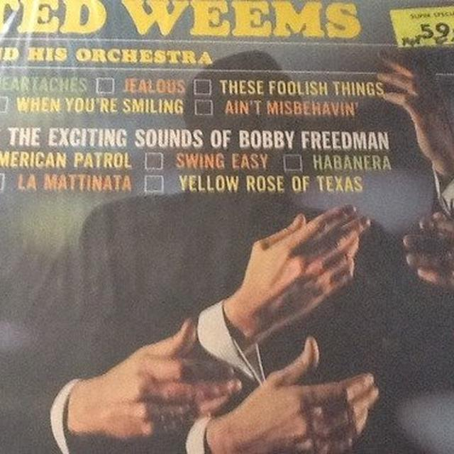 Ted Weems & HIS ORCHESTRA 1928-30 Vinyl Record
