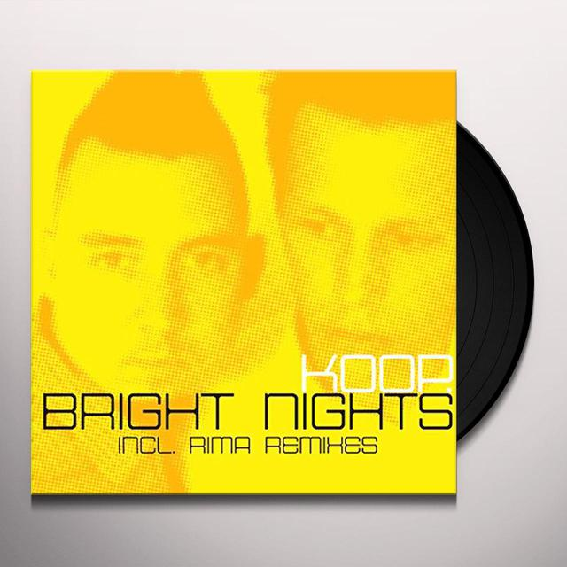 Koop BRIGHT NIGHTS Vinyl Record