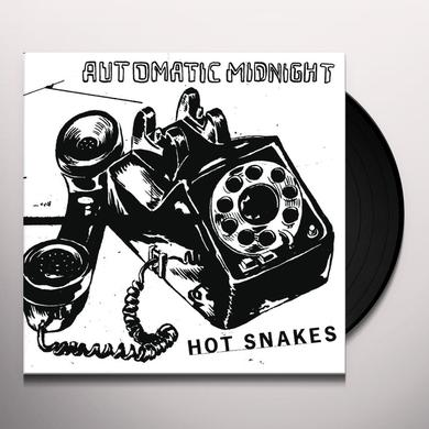 Hot Snakes AUTOMATIC MIDNIGHT Vinyl Record