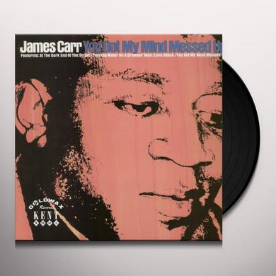 James Carr YOU GOT MY MIND MESSED UP Vinyl Record - UK Import