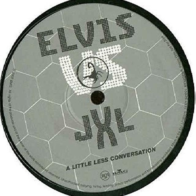 Elvis Presley LITTLE LESS CONVERSATION (X2) Vinyl Record