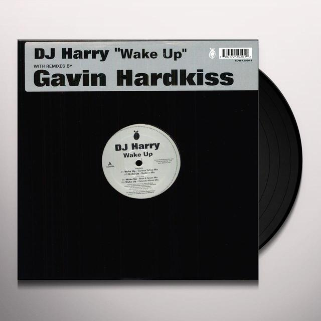 Dj Harry WAKE UP Vinyl Record