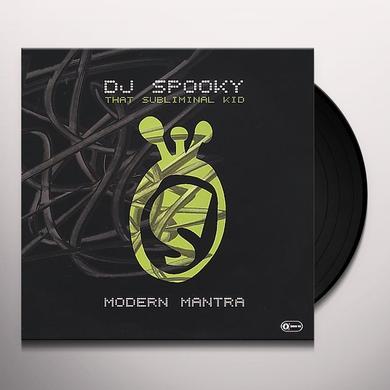 Dj Spooky MODERN MANTRA Vinyl Record