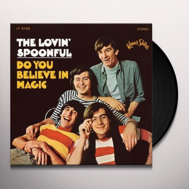 The Lovin' Spoonful DO YOU BELIEVE IN MUSIC Vinyl Record