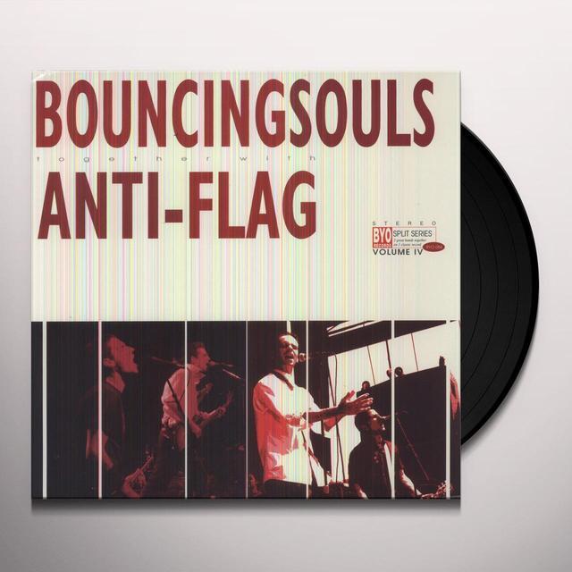 Bouncing Souls / Anti-Flag SPLIT - SERIES 4 Vinyl Record