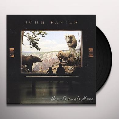 John Parish HOW ANIMALS MOVE Vinyl Record