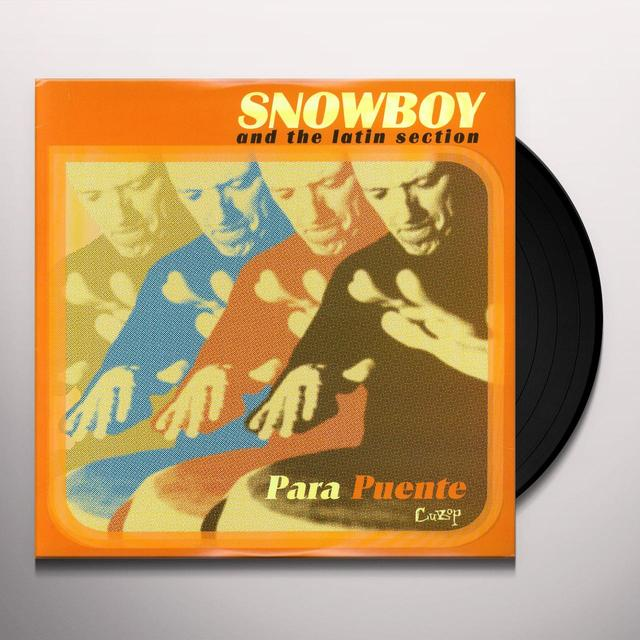 Snowboy & Latin Section PARA PUENTE Vinyl Record
