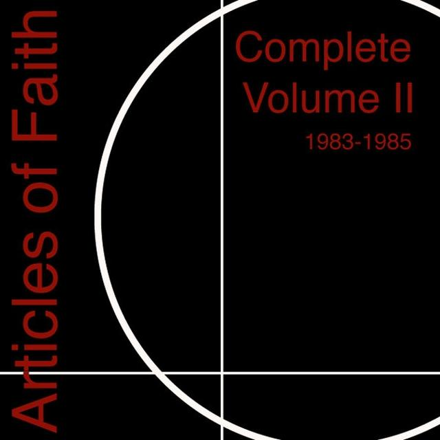 Articles Of Faith COMPLETE 2 1983-1985 Vinyl Record