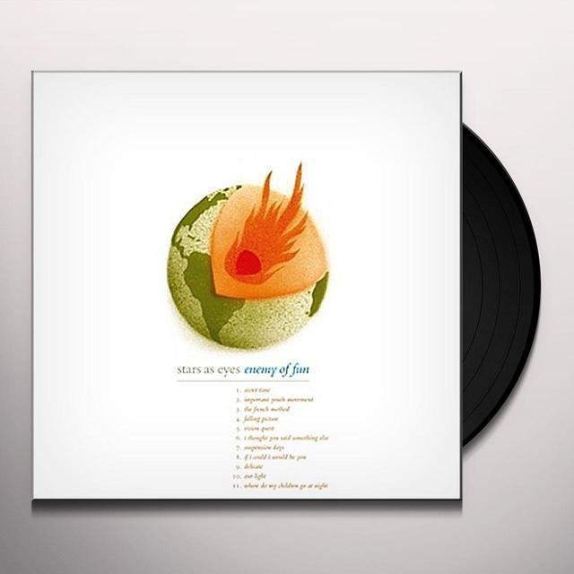 Stars As Eyes ENEMY OF FUN Vinyl Record