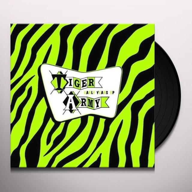 Tiger Army EARLY YEARS (EP) Vinyl Record