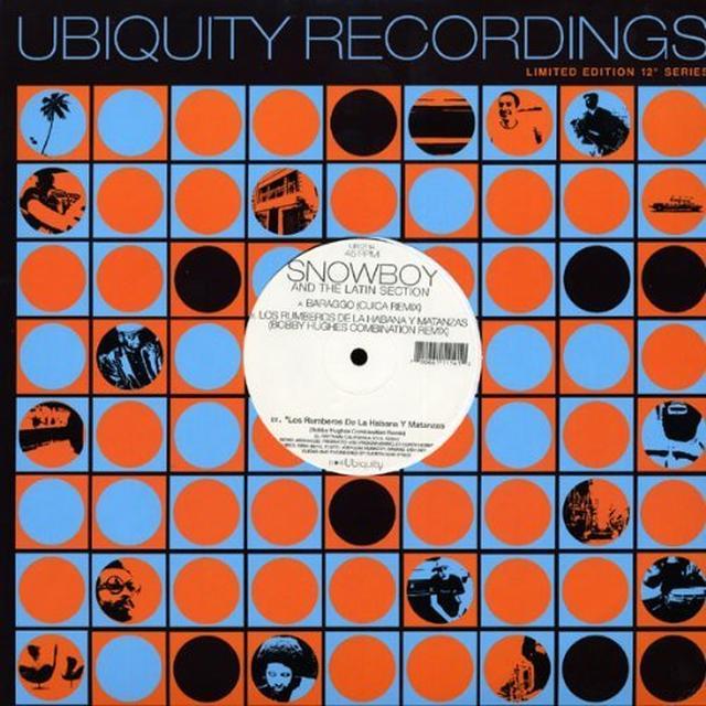 Snowboy BARAGO / RUMBEROS DE LA HABANA Y MATANZAS (SINGLE) Vinyl Record