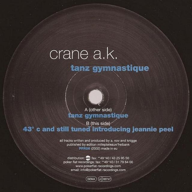 Crane A.K. TANZ GYMNASTIQUE Vinyl Record