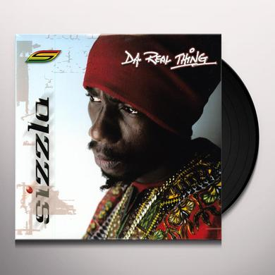 Sizzla DA REAL THING Vinyl Record