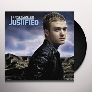 Justin Timberlake JUSTIFIED Vinyl Record