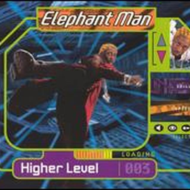 Elephant Man HIGHER LEVEL Vinyl Record